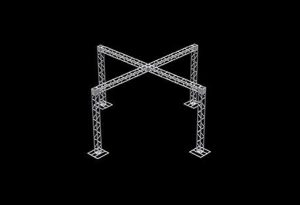 Estrutura Box Truss X