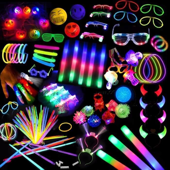 Adereços para Festa neon
