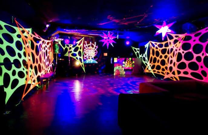 Balada Neon festa Fluorescente