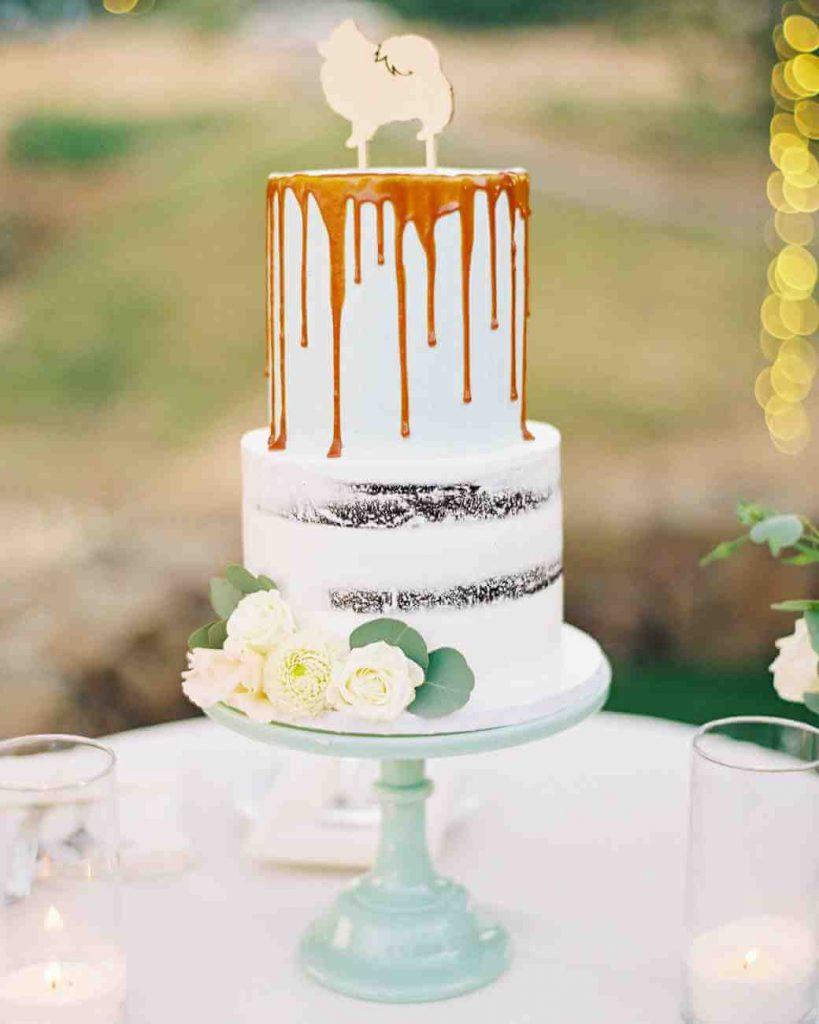 Drip Cake Bolo de Casamento