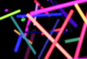 Festa Neon Balada e Decoração